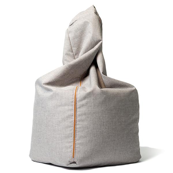 Pufa Grey - Różne kolory zamków