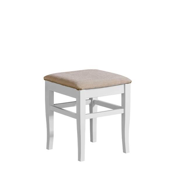 Prowansja - Taboret - biały