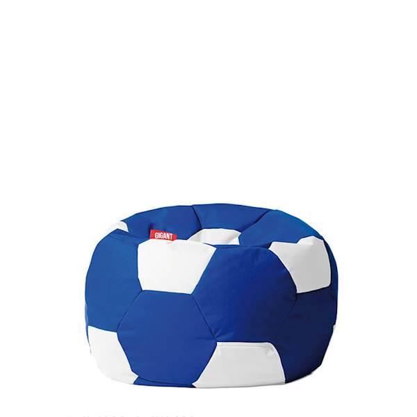 Pufa piłka 250L (kodura) - niebiesko-biała
