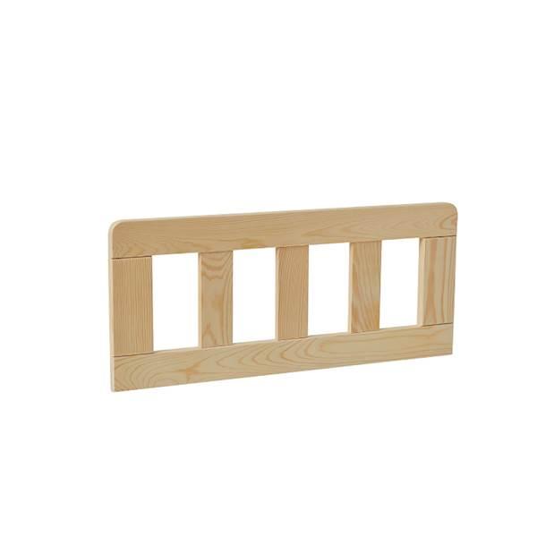 Barierka do łóżka domek 160x70 Pinio - Classic (2 szt.) 60 cm - drewno sosnowe