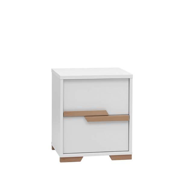 Snap Pinio - Kontener do biurka - kolor biały
