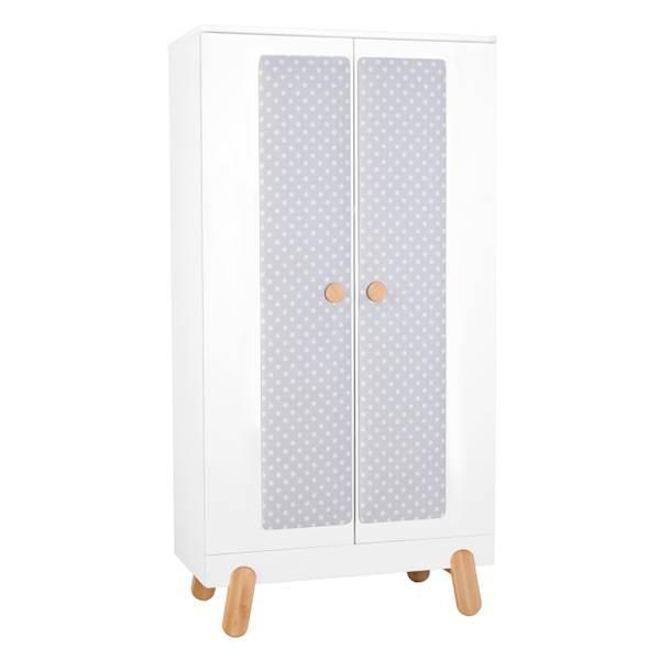 Iga Pinio - Szafa 2 drzwiowa - kolor biały