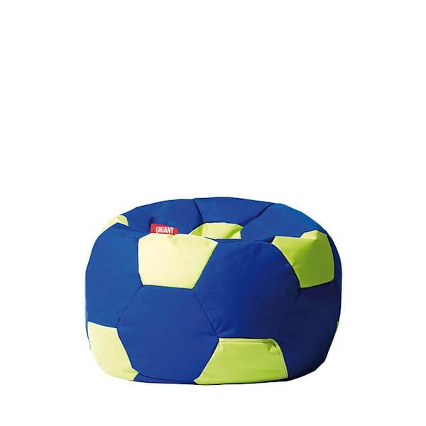 Pufa piłka 250L (kodura) - niebiesko-limonka