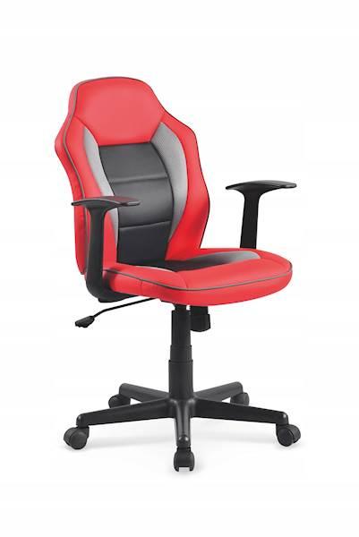 NEMO mini fotel gracza czerwono-czarny