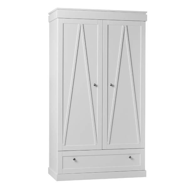Marie Pinio - Szafa 2 drzwiowa - kolor biały
