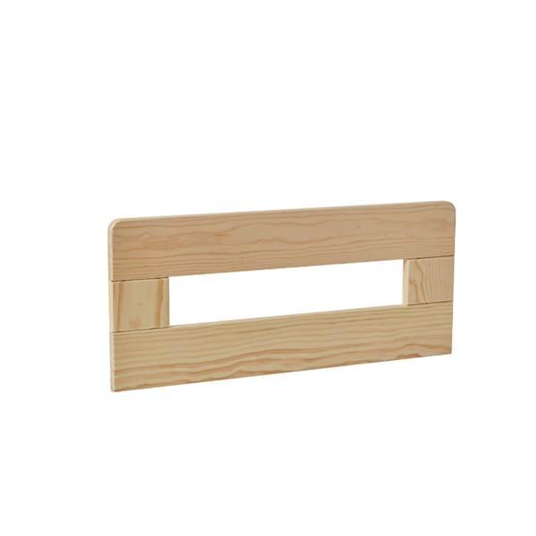 Barierka do łóżka domek 160x70 Pinio - Simple (2 szt.) 60 cm - drewno sosnowe