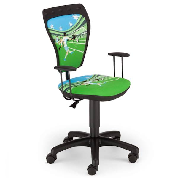 Krzesło obrotowe dziecięce - Ministyle (Piłka nożna)