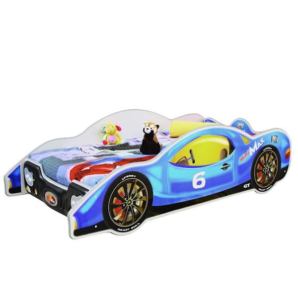 Minimax niebieski - Łóżko samochód - 180x90/160x80