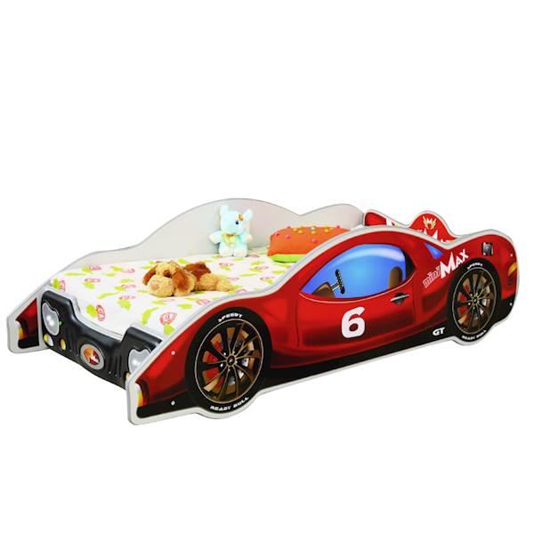 Minimax czerwony - Łóżko samochód - 180x90/160x80
