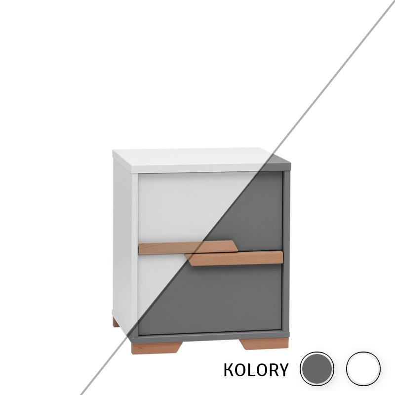 Snap - Konter do biurka - biały/szary