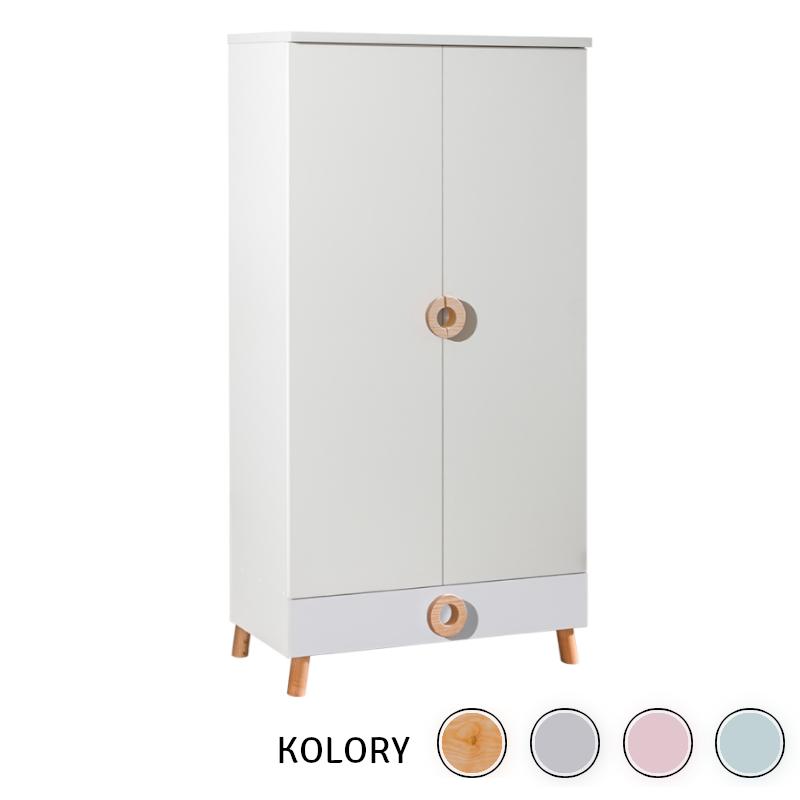 Classic New - Szafa 2 drzwiowa - różne kolory