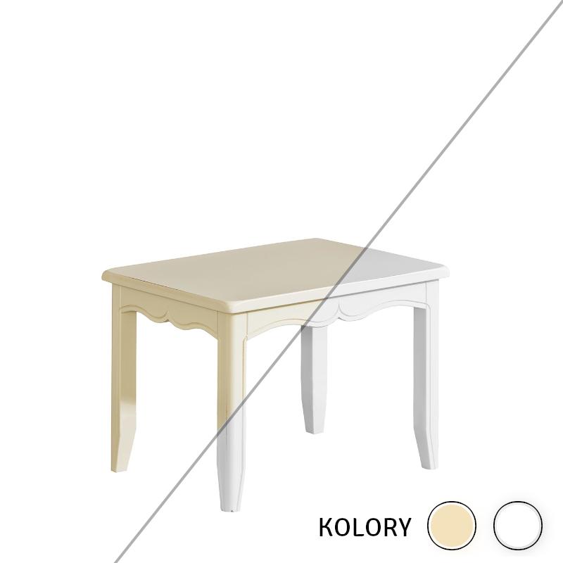 Prowansja - Stolik dziecięcy - krem/ biel