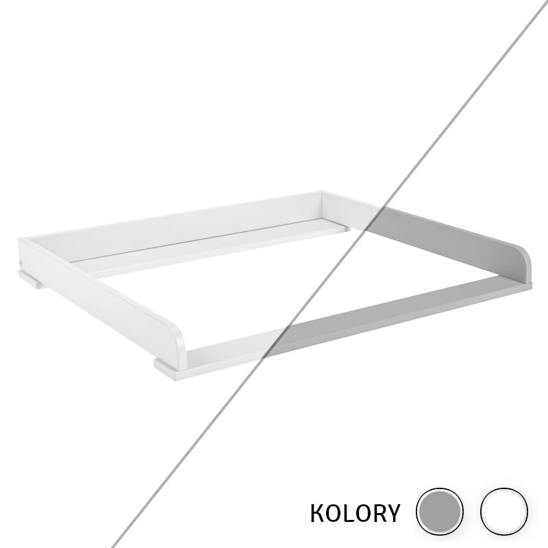 Calmo - Przewijak - biały/szary