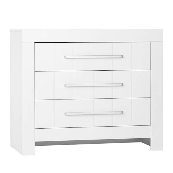 Calmo Pinio - komoda 3 szuflady - kolor biały