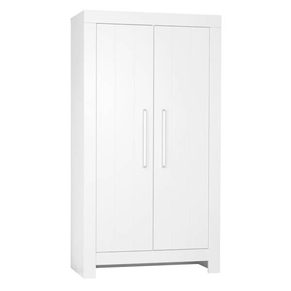 Calmo Pinio - Szafa 2 drzwiowa - kolor biały