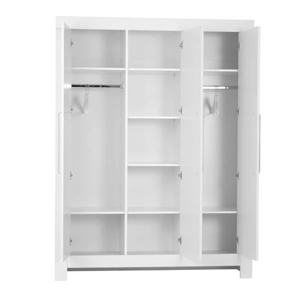 Calmo Pinio - Szafa 3 drzwiowa - kolor biały