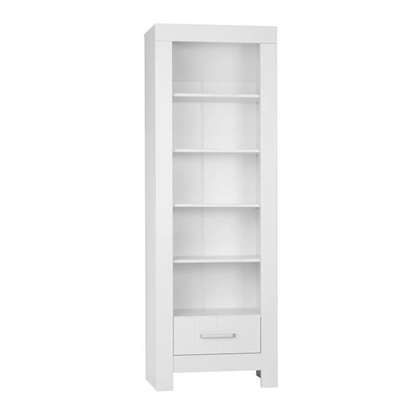 Calmo Pinio - Regał z szufladą - kolor biały