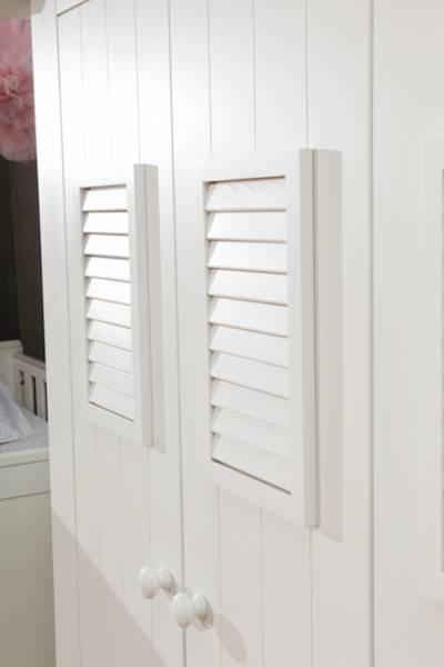Marsylia MDF Pinio - Szafa 2 drzwiowa - kolor biały