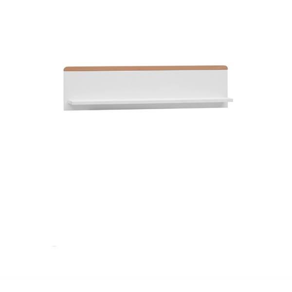 Snap Pinio - Półka ścienna wisząca - kolor biały