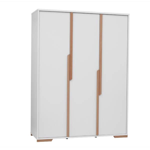 Snap Pinio - Szafa 3 drzwiowa - kolor biały