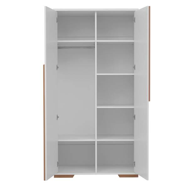 Snap Pinio - Szafa 2 drzwiowa - kolor biały