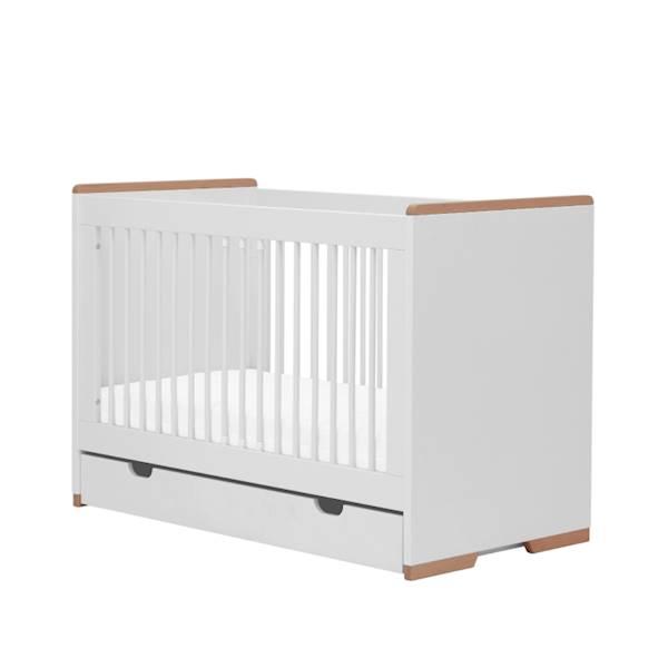 Snap Pinio - Szuflada do łóżeczka 120x60 cm - kolor biały