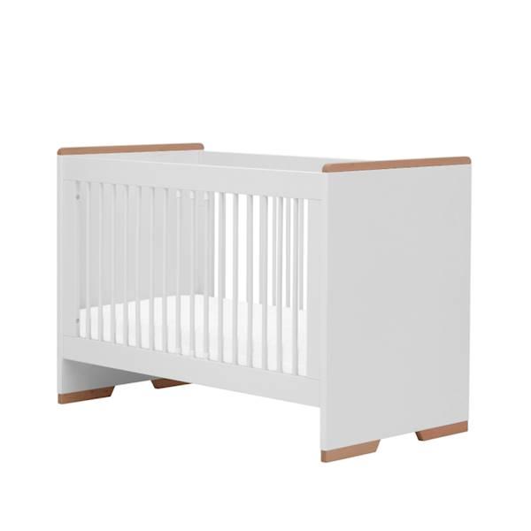 Snap Pinio - Łóżeczko 120x60 cm - kolor biały