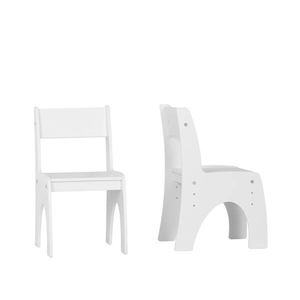 Klips Pinio - Krzesełko regulowane - kolor biały