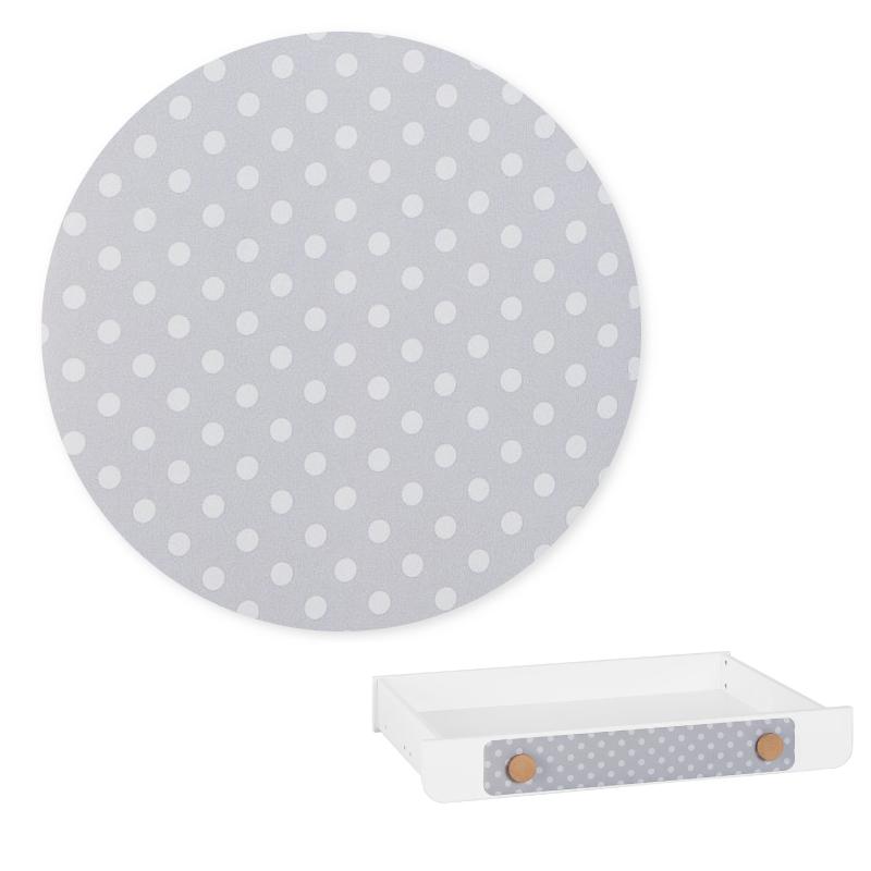 Iga Pinio - nakładka tapicerowana - szuflady