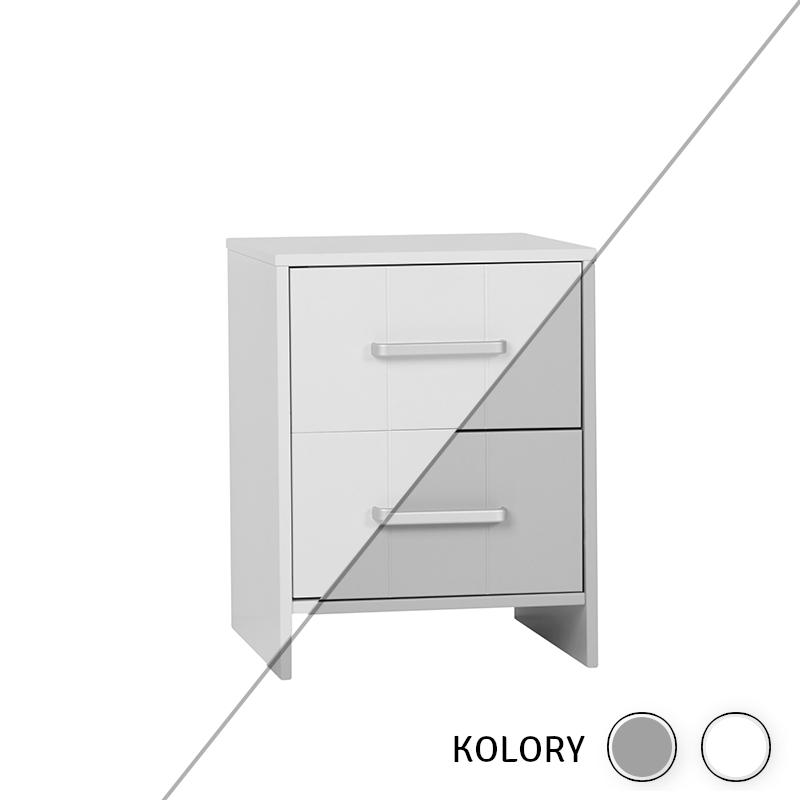 Calmo -  Kontener do biurka - biały/szary