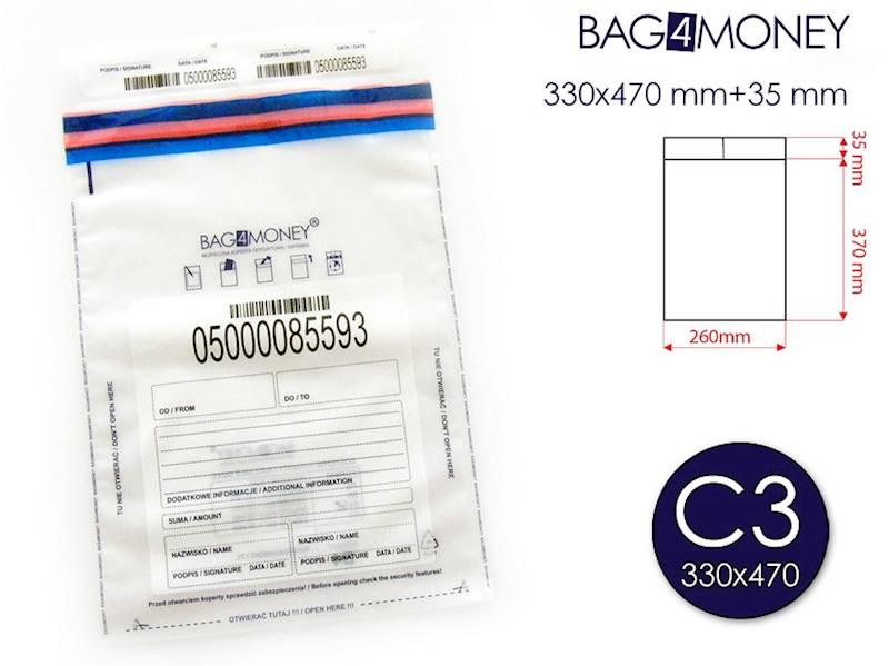 C3  Bez. Kop. Przezroczysta (330x470 mm+35mm)