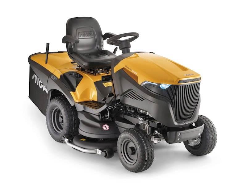 TRAKTOREK STIGA ESTATE PRO 9122 XWS 4WD 2-cylindry