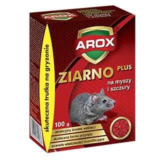 AROX MYSZY I SZCZURY GRANULAT (ZIARNO) 100g