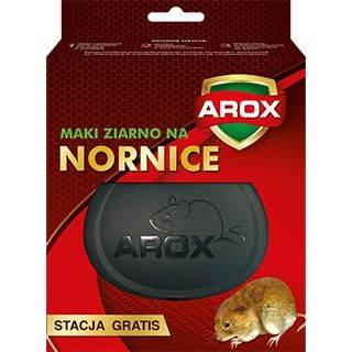 AROX NORNICE MYSZY SZCZURY ZIARNO 100g+1szt