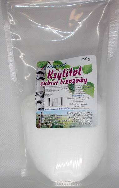 Ksylitol - cukier brzozowy 250g Lompart (Finlandia
