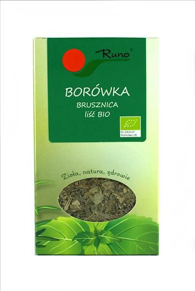 Bio Brusznica liść 50g Runo