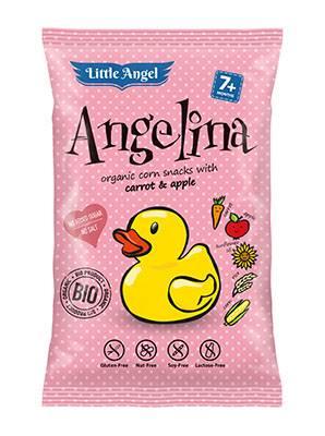 Chrupki b/glut. Angelina kuk/march/jabłko 30g
