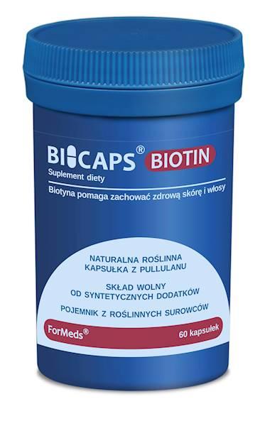 BiCaps Biotin 60 kapsułek Formeds