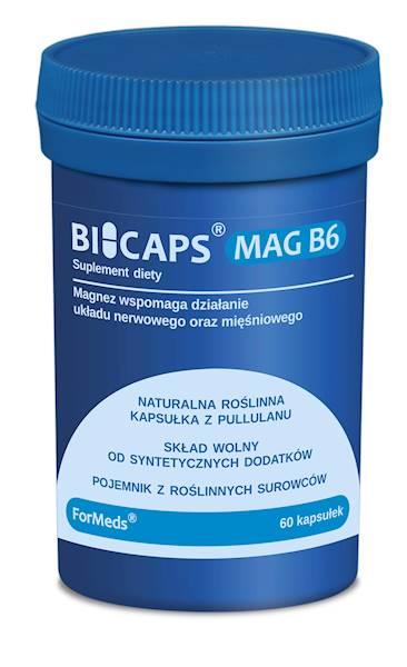 BiCaps Mag B6 60 kapsułek Formeds