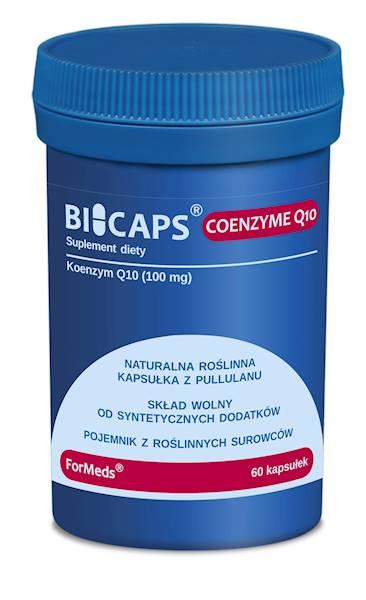 BiCaps Coenzyme Q10 60 kapsułek Formeds