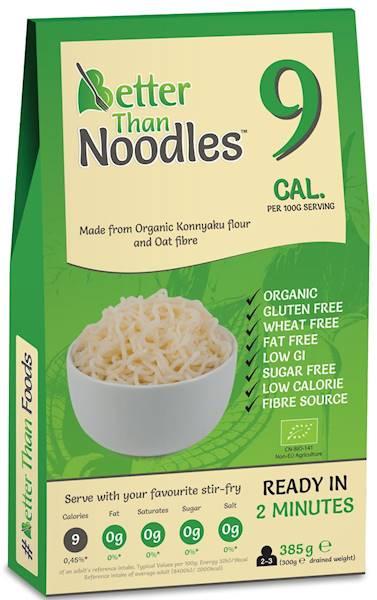 BIO Makaron Konjac noodle b/glutenowy 385g