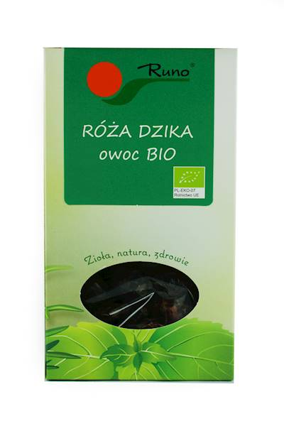 Bio Róża dzika owoc 50g Runo