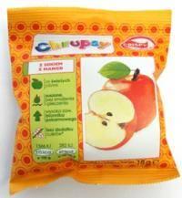 Chipsy z jabłka z sokiem z mango 18g Crispy