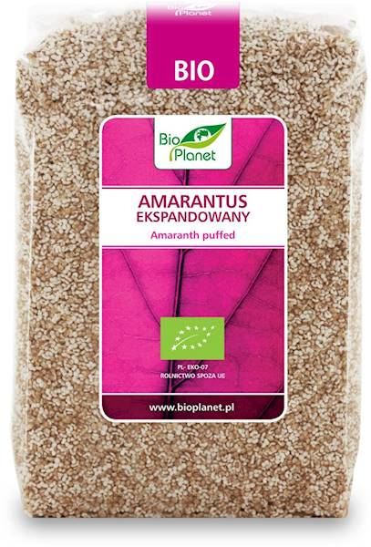 BIO Amarantus ekspandowany 150g Bio Planet