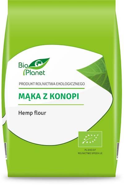 BIO Mąka z konopi 400g Bio Planet