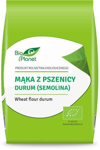 BIO Mąka z pszenicy durum (semolina) 500g Bio Plan