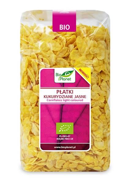 BIO Płatki kukurydziane jasne 250g Bio Planet