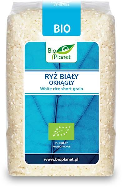 BIO Ryż biały okrągły 500g Bio Planet