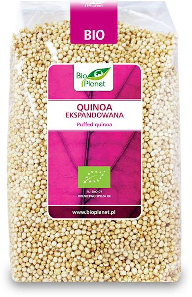 BIO Quinoa ekspandowana 150g Bio Planet