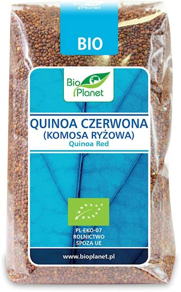 BIO Quinoa czerwona (komosa ryżow) 500g BIO Planet